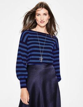 Navy/Blue Stripe Muriel Sweater