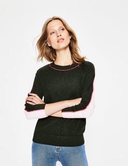 Pine Tree/Milkshake Connie Jumper