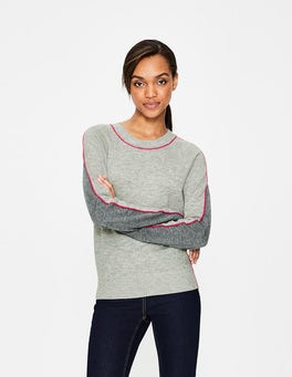 Silver/Charcoal Connie Jumper