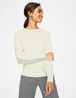 Ivory/Grey  Connie Jumper
