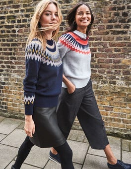 Fair Isle Sweater At Boden