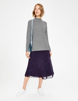 Grey Melange Emily Sweater