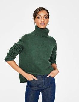 Pine Tree Melange Daisy Sweater