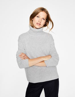 Grey Melange Daisy Sweater