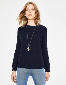 Navy Kendal Sweater