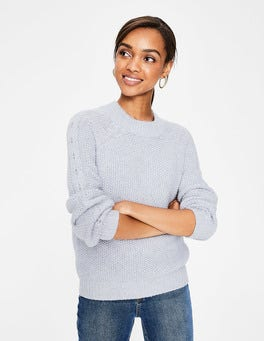 Silver Melange Kendal Sweater
