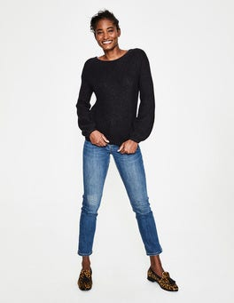 Black Francesca Jumper