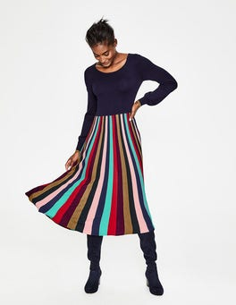 Multi Stripe Margie Dress