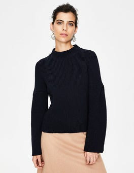 Navy Leah Sweater