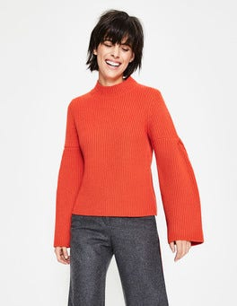 Gladiolenrot Leah Pullover