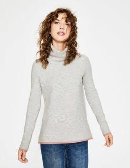 Silver Melange Amy Sweater