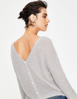 Silver Melange Sasha Sweater