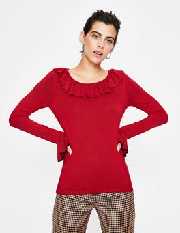 Poinsettia  Lavinia Jumper