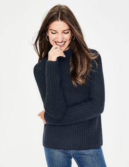 Navy Isabella Sweater
