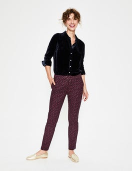 Black Enchanted Vine Richmond 7/8 Pants