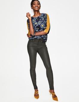 Black Wax Mayfair Skinny Jeans