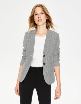 Black Canonbury Blazer