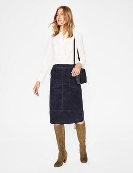 Whale Grey  Burston Skirt