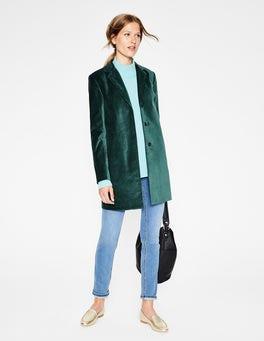 Seaweed Blyford Velvet Coat