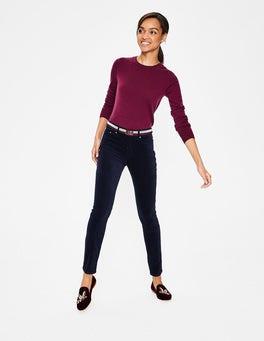 Navy Velvet Soho Skinny Jeans