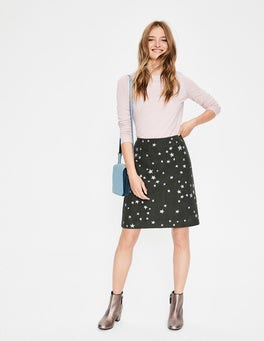 Star Emb Fun Embroidered Skirt