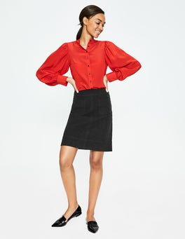 Black Dorchester Skirt