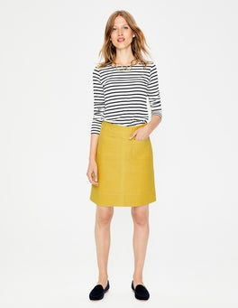Hot Mustard Dorchester Skirt