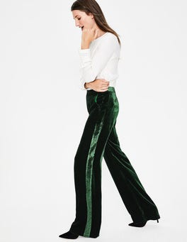 Chatsworth Green Selwood Velvet Trousers