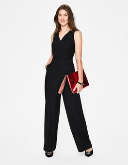 Black Hexham Jumpsuit
