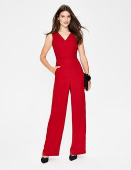 Poinsettia  Hexham Jumpsuit