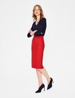 Poinsettia Winsford Pencil Skirt