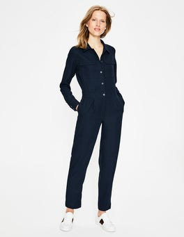 Navy Zada Jumpsuit