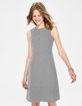 Black/Ivory Canonbury Shift Dress