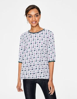 Cygnet, Flower Press Hi-Lo Hem Top