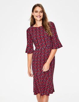 Poinsettia, Wallflower Flippy Pencil Dress