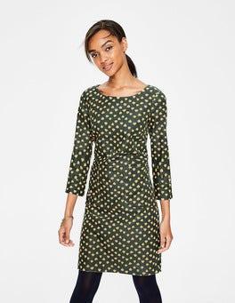 Pine Tree Dandelion Bud Amber Dress
