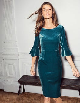 Aubrey Velvet Dress