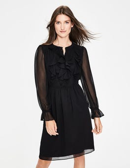 Black Amalie Dress