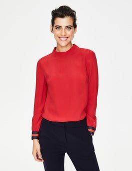 Poinsettia Louise Top