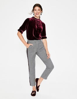 Mulled Wine Adora Velvet Top