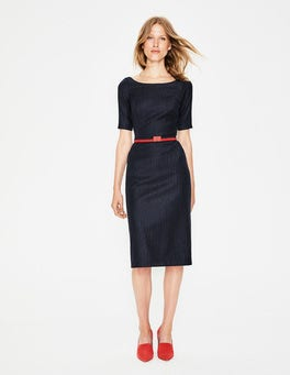 Cresswell Pinstripe Dress