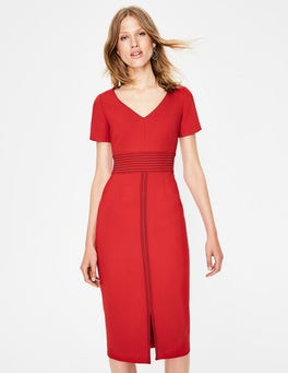 Poinsettia Winsford Midi Dress