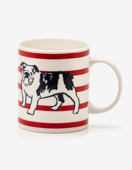 Bull Dog Stripe Fun Mug