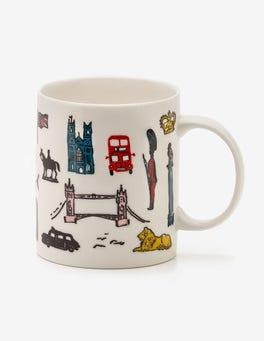 London Scene Fun Mug