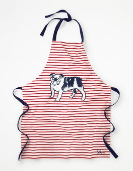 Bull Dog Stripe Fun Apron