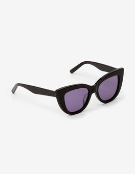 Black Valencia Sunglasses