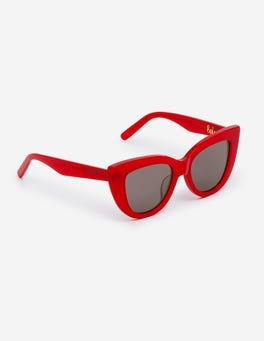 Weihnachtssternrot Valencia Sonnenbrille