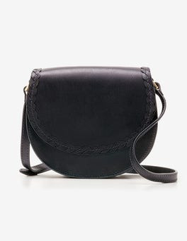 Navy Lingfield Mini Saddle Bag