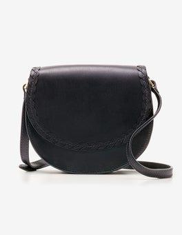 Navy Lingfield Mini Saddle Bag