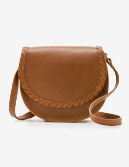 Tan Lingfield Mini Saddle Bag